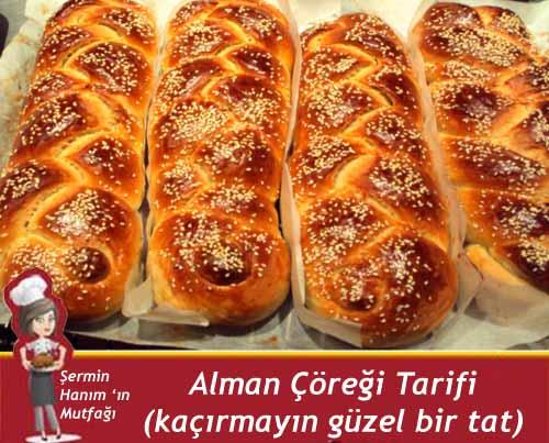 al Alman Çöreği Tarifi